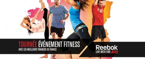 Reebok Live With Fire