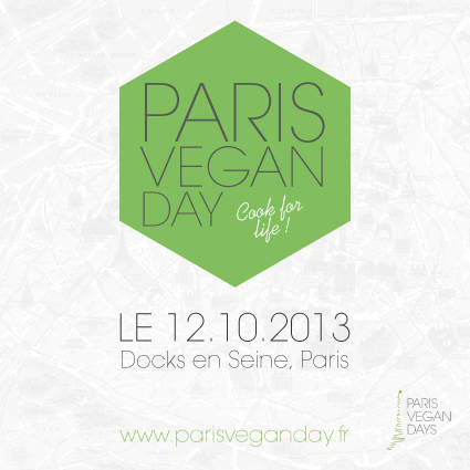 Paris vegan day 2013 sportive en herbe for Salon vegan paris