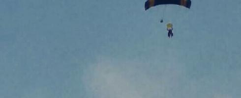 J'ai sauté en parachute